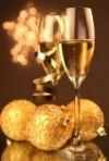 champagne navidad