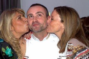 Beso a Rodrigo