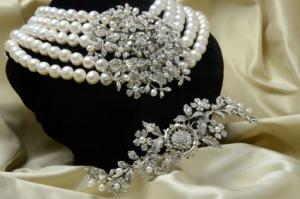 Collar desayuno con diamantes Audrey VINTAGE