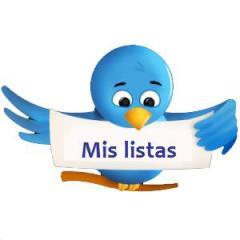 Mis listas Twitter