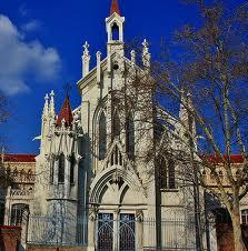 Capilla gotica colegio El Pilar