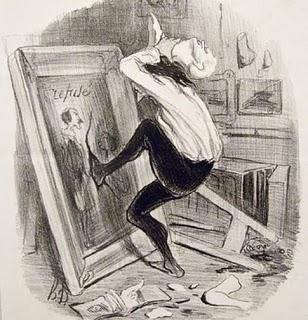 Luces de bohemia Fundación Mapfre Daumier litografias