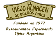 El Viejo Almacén de Buenos Aires Restaurante 1