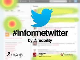Informe twitter. comportamiento de los usuarios en Twitter