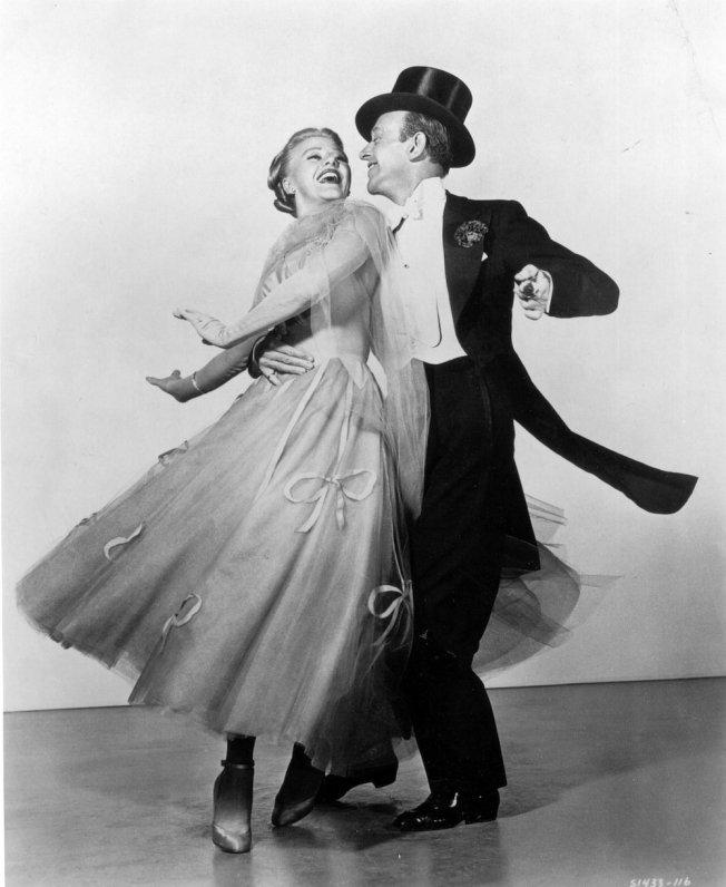 Bailes de salón , Ginger Roger y Fred Astaire