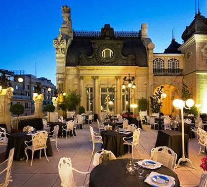 Terraza del Casino Madrid. Restaurante