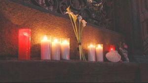Luto en Santiago de Compostela