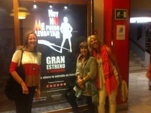 Hoy no me puedo levantar, Madrid, Gran Via, Teatro Coliseum, musicales