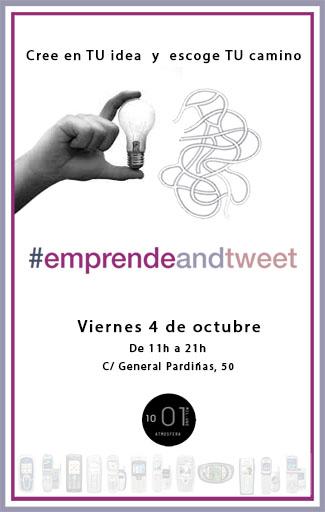invitación EmprendeandTweet