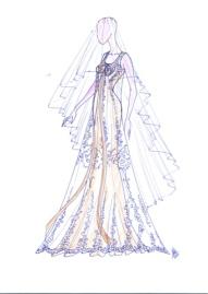 Marcos Garabán vestido novia