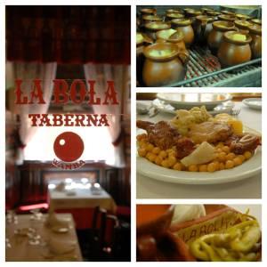 Cocido Madrileño, Madrid, Platos de cuchara, Tabernas